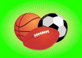 Balls. — Stock Vector