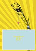 Crane. — Stock Vector