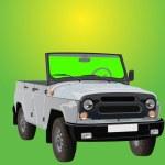 SUV-convertible — Stock Vector