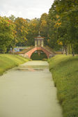 Bridge Pavilion in Tsarskoe Selo, Russia — Stock Photo