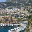 Fontvieille, new district of Monaco, — Stockfoto #4943246
