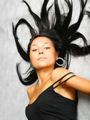 Sexy bruneta — Stock fotografie