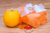 Orange spa — Stockfoto