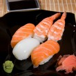 Japanese sushi plate — Stock Photo