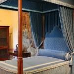 Royal bedroom — Stock Photo