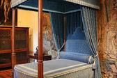 королевская спальня — Стоковое фото