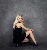 Chica glamorosa — Foto de Stock