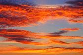Pozadí oblohy, barevné. — Stock fotografie