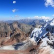 Dirty glacier — Stockfoto