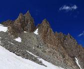 Two mountain peaks — Foto de Stock