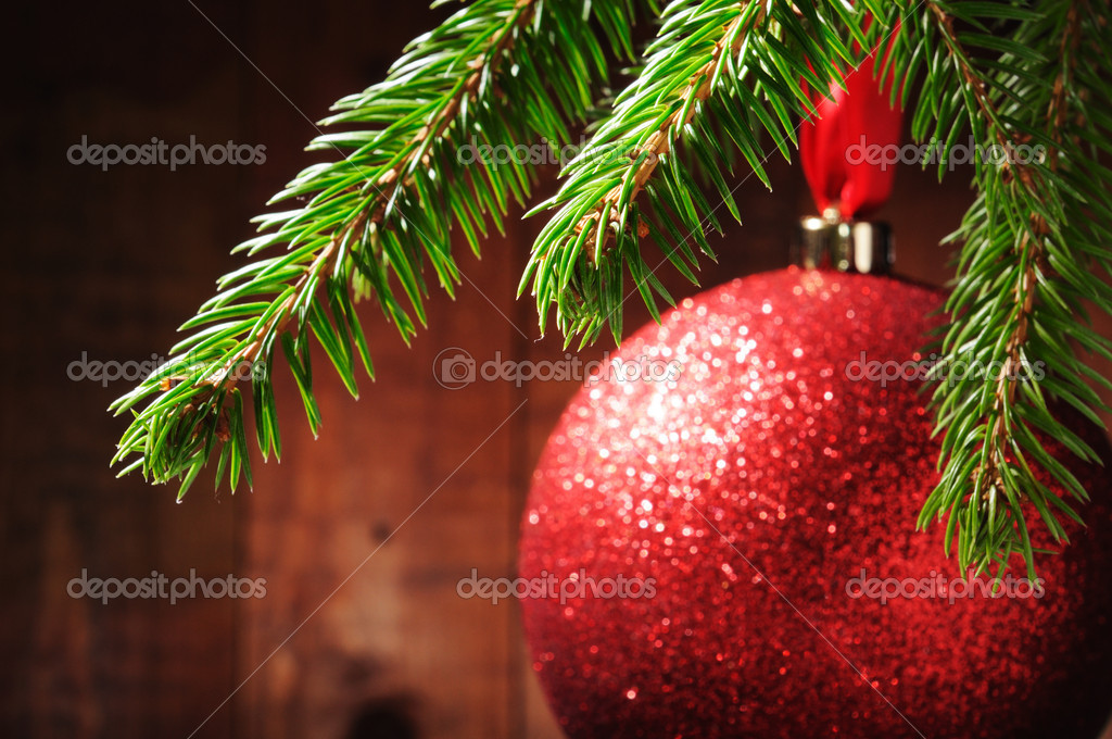 Merry Christmas and Happy New Year — Foto de Stock   #4349369