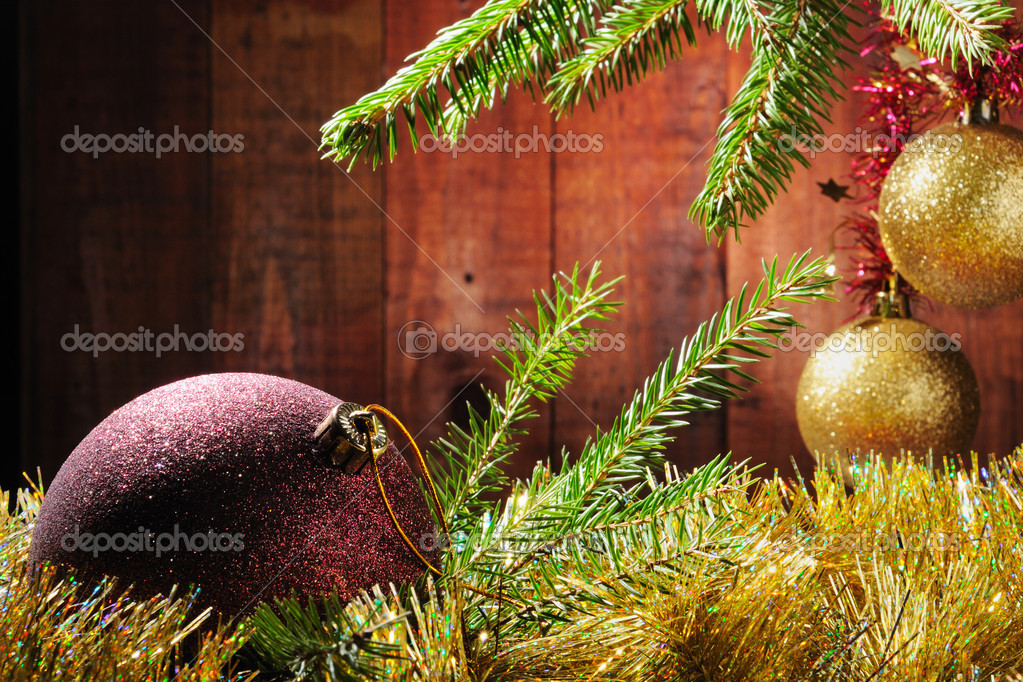 Merry Christmas and Happy New Year — Foto de Stock   #4349423