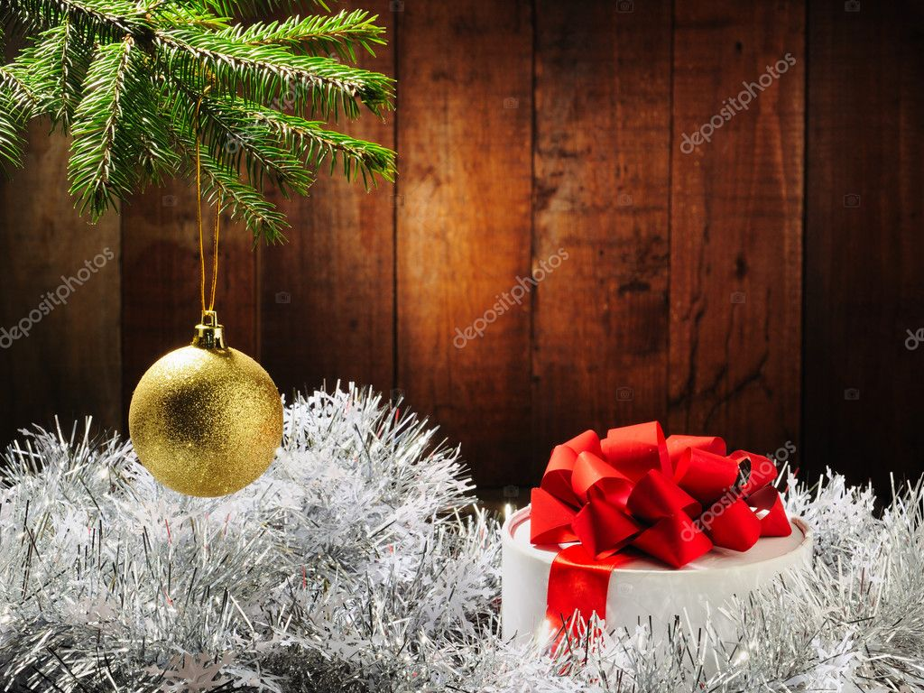 Merry Christmas and Happy New Year — Foto de Stock   #4349636