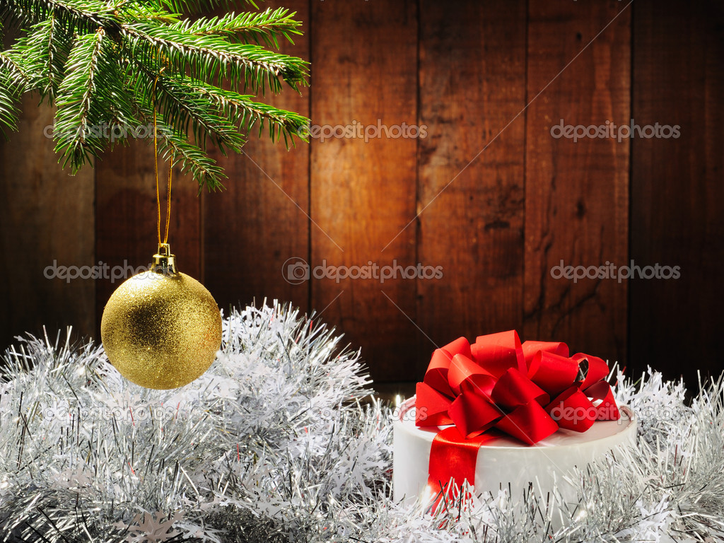 Merry Christmas and Happy New Year  Stock Photo #4349636