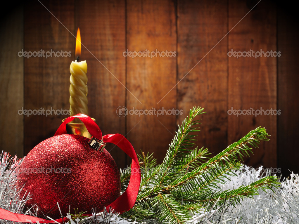 Merry Christmas and Happy New Year — Foto de Stock   #4349667