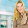 Beautiful young blond woman — Stock Photo #4657758