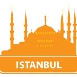 Istanbul skyline — Stock Vector
