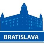 Bratislava skyline — Stock Vector