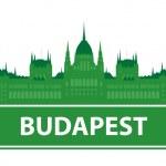 Budapest skyline — Stock Vector #3964845