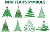 Картинки к новому году из символов