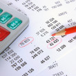 Stockfoto: Financial account