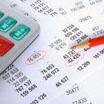 Financial account — Stock Photo