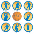 Royalty-Free Stock Vector Image: Basketball