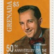 Bing Crosby  American singer — Stock Photo