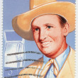 Gene Autry American  performer, acror and singer — Stock Photo