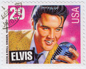 Singer Elvis Presley — Stock Photo