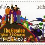 Beatles no submarino amarelo cartoon — Foto Stock