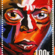 Stock Photo: Stamp show Miles Davis