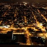 Nighttime in Seattle, USA — Stock Photo