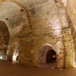 Classic Israel - Acre also Akko knight templar castle in Western - Stock Photo