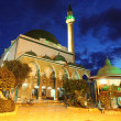 Classic Israel - Mosque of Al-Jazzar in Acre ( also Akko ) in We — Stock Photo