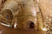Classic Israel - Acre also Akko knight templar castle in Western — Stock Photo