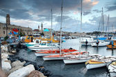 Classic Israel - old town and port in Acre also Akko in Western — Stock Photo