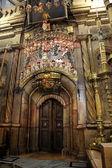 классический израиль - гробница иисуса христа в церкви — Стоковое фото