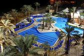 Detail of Swimming pool in Spa resort at Dead sea, Israel — Stock Photo