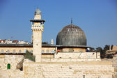 Al Aqsa Mosque in Jerusalem, Israel — Stock fotografie