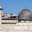 Al Aqsa Mosque in Jerusalem, Israel - Stock Photo