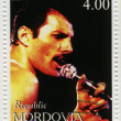 Постер, плакат: Freddie Mercury leader the Queen