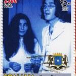 Постер, плакат: John Lennon and Yoko Ono