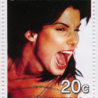 American actress Sandra Bullock — Stock Photo