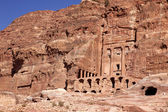 Petra - Nabataeans capital city ( Al Khazneh ), Jordan — Stock Photo
