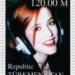 Постер, плакат: Gillian Anderson