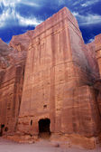 Petra - Nabataeans capital city ( Al Khazneh ) , Jordan — Stock Photo