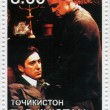 Постер, плакат: Marlon Brando and Al Pacino in The Godfather film