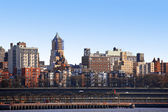 NY - Bronx, view from Manhattan, USA — Stock Photo