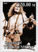 Robert Plant from Led Zeppelin — Stock Photo